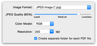 PDFGenius - Convert PDF to images like JPG, JP2, PNG, TIFF, BMP & PSD with other options