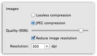 Word to PDF - Better control over image quality in PDF