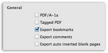 Word to PDF - Better control over content in PDF