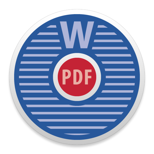 Word to PDF icon