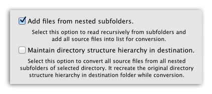 PS-to-PDF - Add PS files recursively and maintain directory hierarchy while conversion